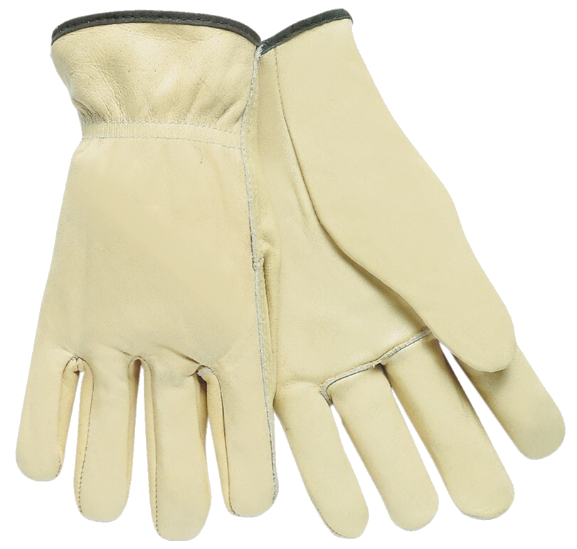 Cream Drivers Gloves