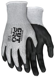 X-Small 1 Pair MCR Safety 9178NFXS 13 Gauge Kevlar//Synthetic Fiber Memphis Black Kevlar Gloves with Nitrile Foam palm//Fingers