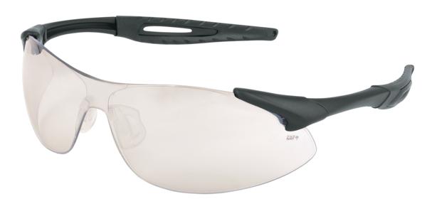 02f1e66de388 IA1 Series, Black Frame, Indoor/Outdoor Clear Mirror Lens