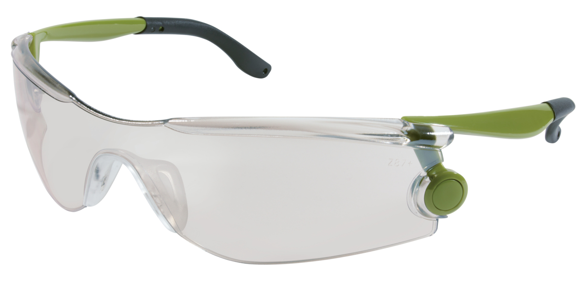 36f036489cb9 Mantis™ - Green Frame, Indoor/Outdoor Clear Mirror Lens