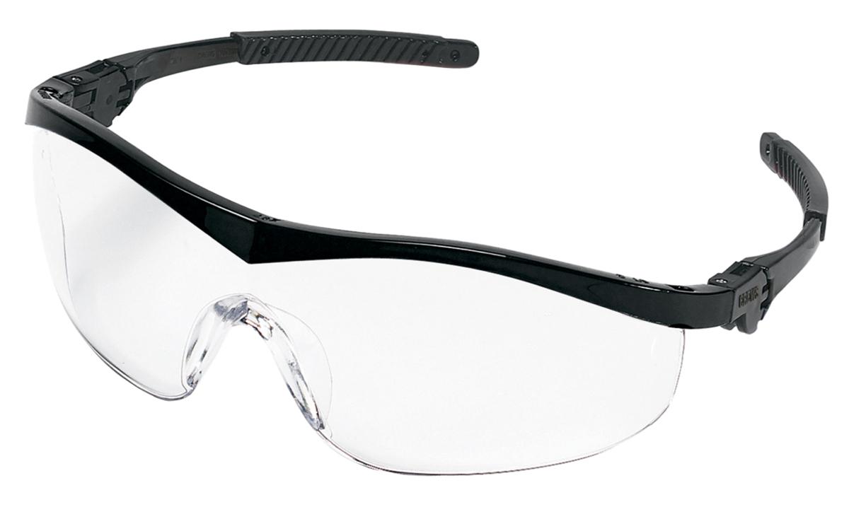 8dfc230a5fe0 ST1 Series, Black Frame, Clear Anti-Fog Lens