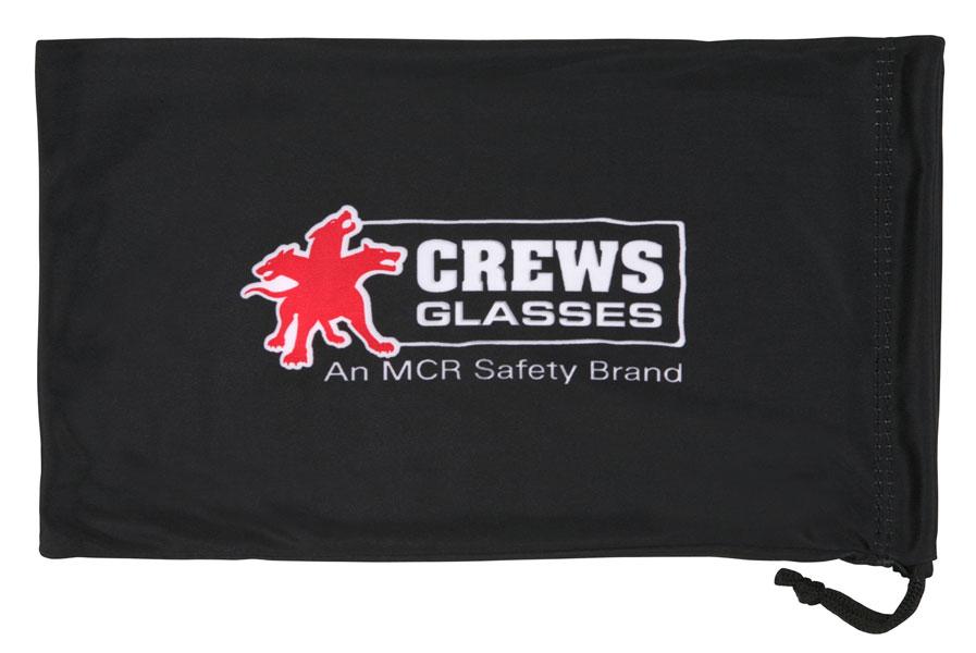 95d749df8d6e 208G. Goggle Bag - Black microfiber carry bag with MCR Safety logo