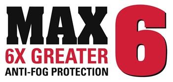 MAX6 Anti-Fog Technology   MCR Safety