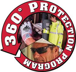 MCR Safety 360 Protection Program Van Logo