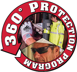 MCR Safety 360 Protection Program Van Logo