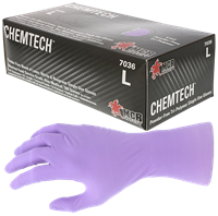 Disposable Gloves: All-in-one (Latex, Neoprene and Nitrile) (Nitrile and Vinyl)