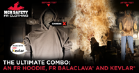The Ultimate Combo: An FR Hoodie, FR Balaclava, and DuPont™ Kevlar®