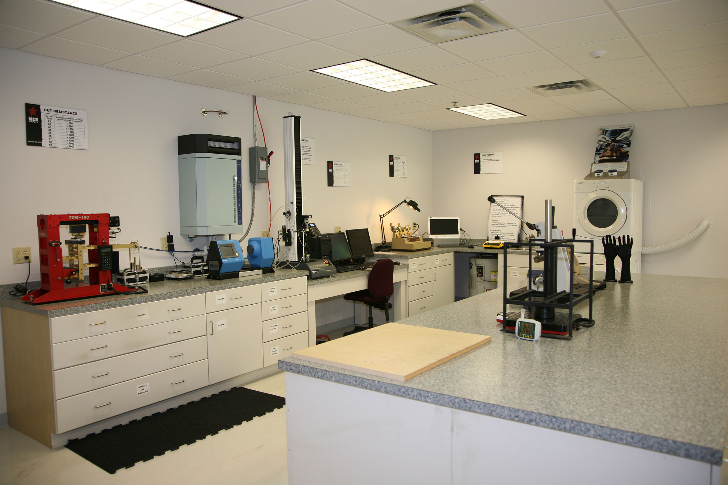 MCR Safety's ITC Certified Lab