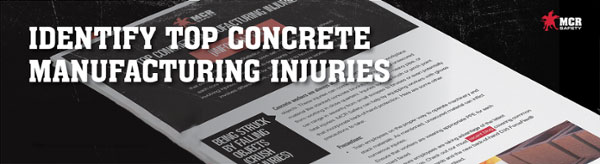Identify Top Concrete Manufacturing Injuries