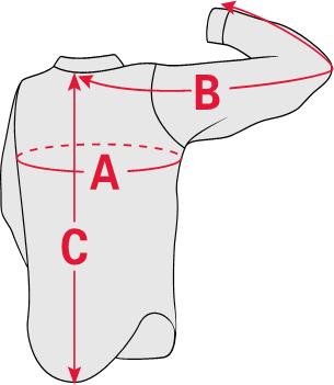 Shirt Sizing Diagram
