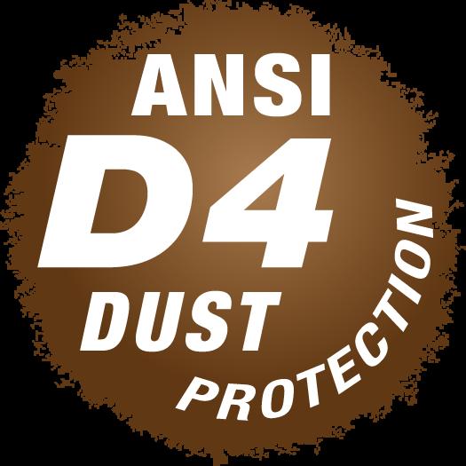 ANSI D4 Dust Protection Symbol