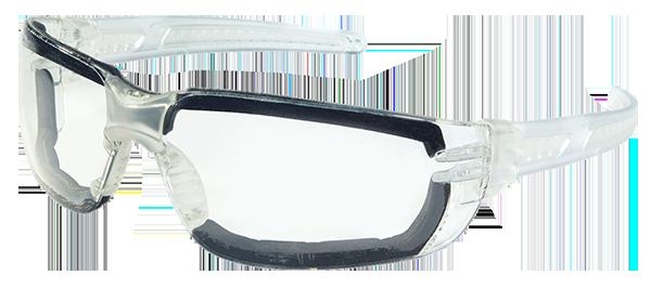 MCR Safety HK3 Foam Lined Glasses