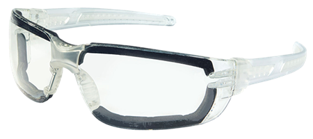 MCR Safety HK3 Foam Lined Glasses