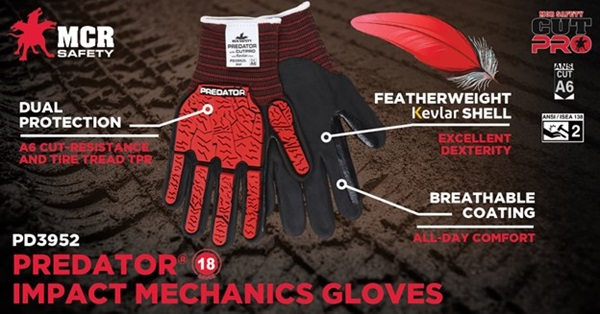 PD3952 Impact Mechanics Gloves