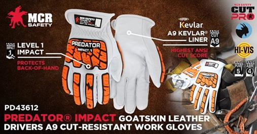 Predator Impact and Cut Gloves