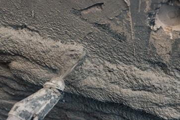 Spraying Concrete