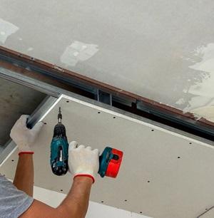 Installing Ceiling Tiles