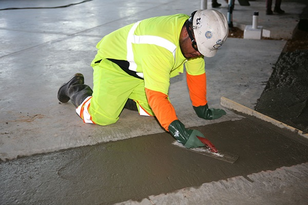 Wet Concrete Hazardous Application