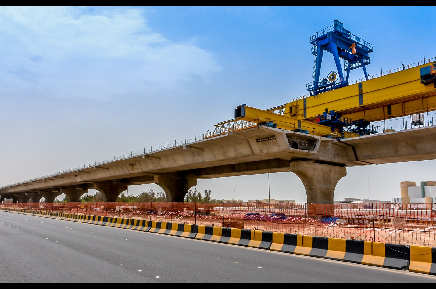 New construction of highways, streets, and roads