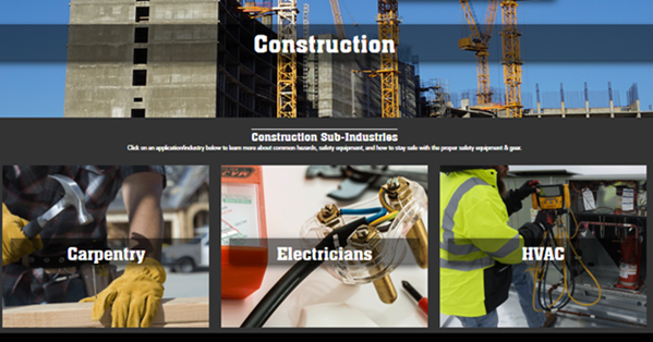 MCR Safety Construction Page