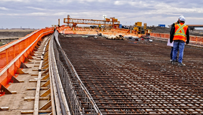 Iron Worker Road Construction