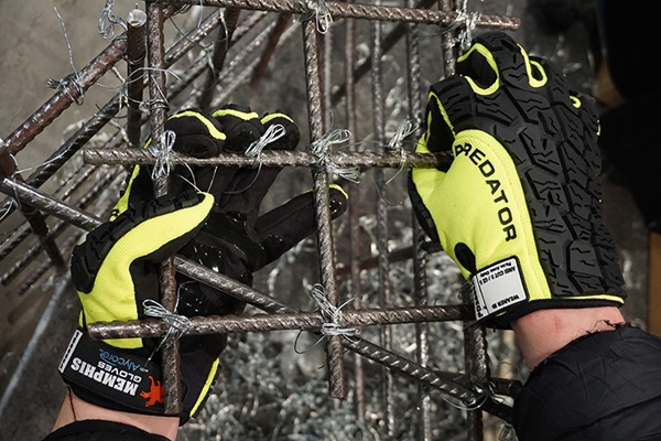 MCR Safety Predator Alycore Gloves with rebar