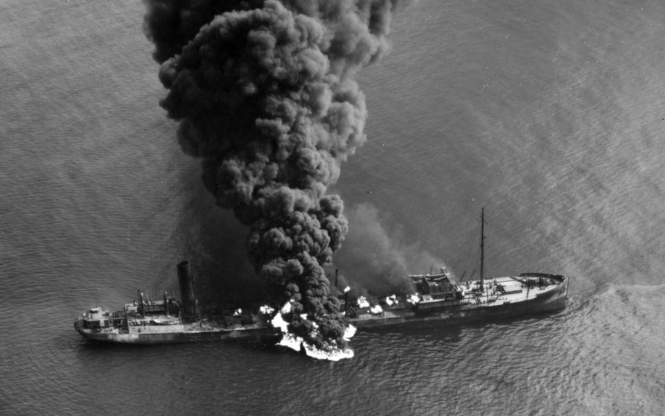 East Coast Vessel Sunk