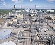 Gas Processing Plant Capacity
