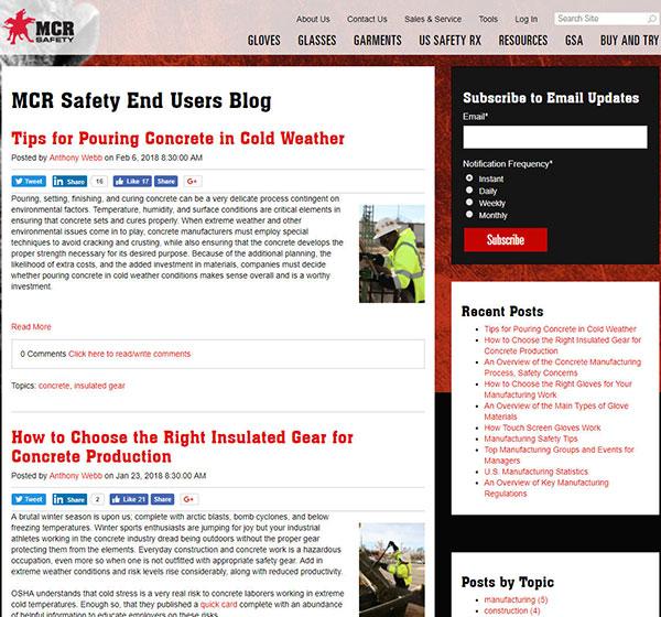 MCR Safety Blog Thumbnail