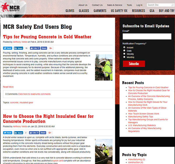 MCR Safety Blog Thumbnail