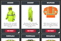 MCR Safety Garments Catalog