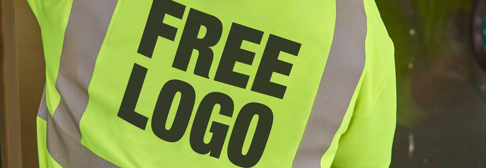 MCR Safety Hi-Vis Free Logo Promotion