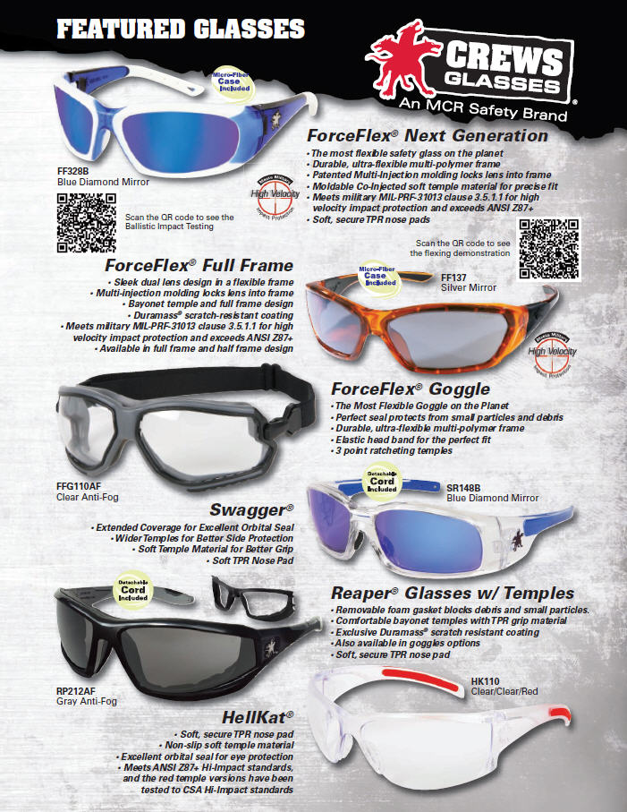 MCR Safety Featured Glasses Thumbnail