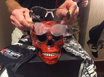 MCR Safety Max 6 Steam Skull