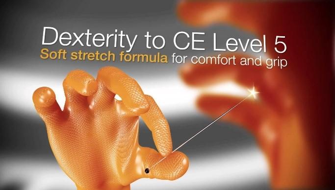 Grippaz Dexterity to CE Level 5