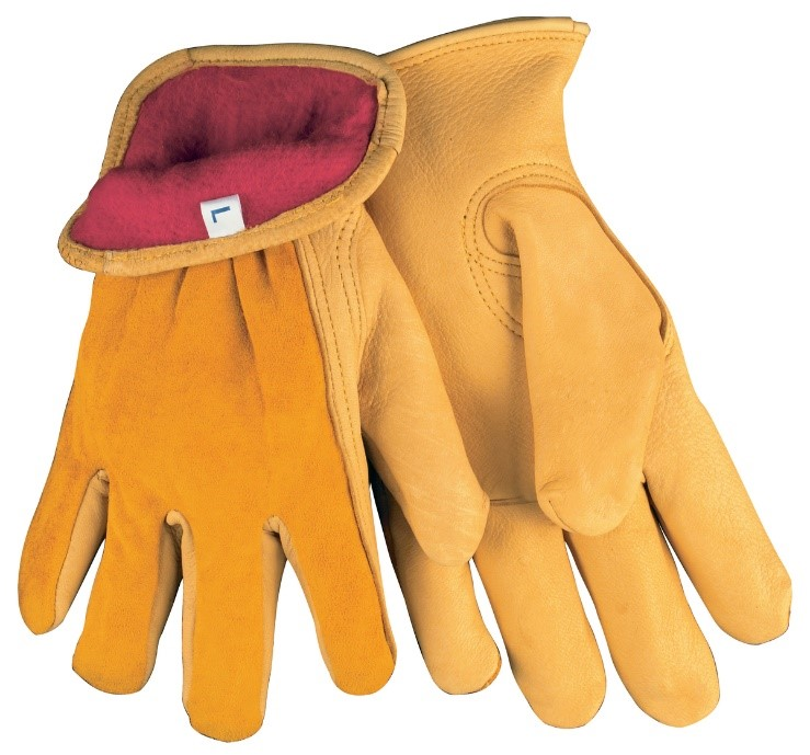 Gold Color Drivers Gloves