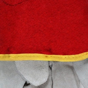 Red Fleece Glove Lining
