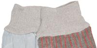 Knit wrist cuff