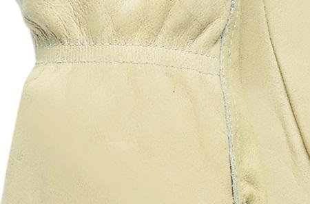 Polyester stitching
