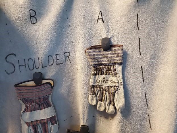 Shoulder Split Leather