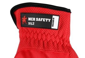 Slip on cuff on glove