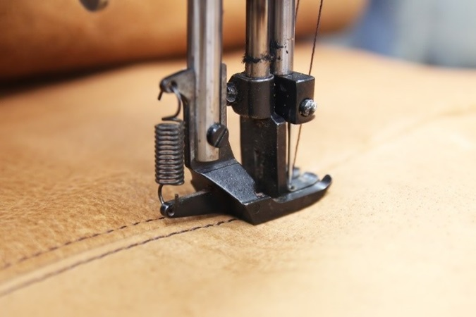 Stitching Leather