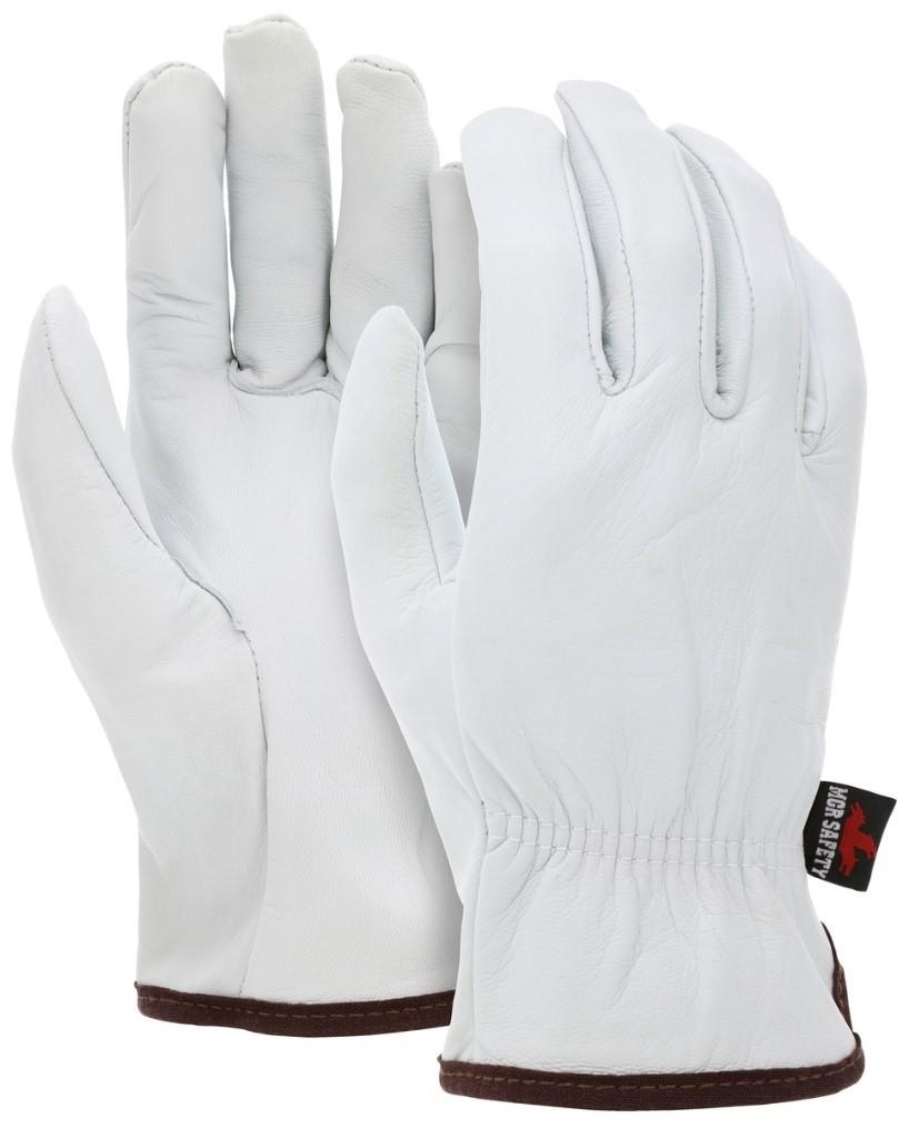 White Driver Glove
